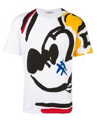Iceberg | White 'mikey Mouse' T-shirt for Men | Lyst