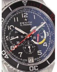 Zenith Multicolor 'el Primero Stratos Flyback Rainbow' Analog Watch for men