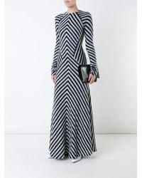 Haider Ackermann White 'briggs' Dress