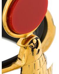 Givenchy - Black Falcon Bracelet - Lyst