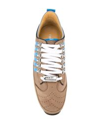 DSquared² | Brown '251' Sneakers for Men | Lyst