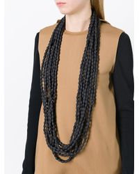 Marc Le Bihan | Black Multi Layer Beaded Necklace | Lyst