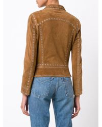 10 Crosby Derek Lam Brown Fitted Jacket
