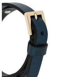 RED Valentino Blue 'love' Bracelet