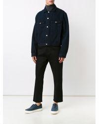 Cmmn Swdn - Blue Classic Denim Jacket for Men - Lyst