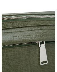 Jil Sander Green Small Messenger Bag for men