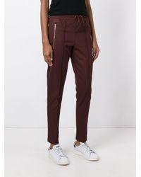 Adidas Originals Black Tapered Track Pants