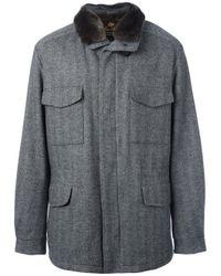 Loro Piana Gray 'traveller' Parka Coat for men