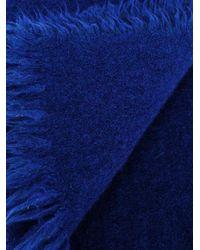 Faliero Sarti - Blue 'marcel' Scarf - Lyst