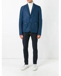 Lacoste Blue Two Button Blazer for men