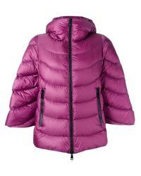 Moncler Blue 'akylina' Padded Jacket