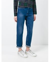 Carhartt Blue High Waisted Jeans for men