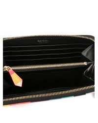 Paul Smith - Multicolor Large 'artist Stripe' Purse - Lyst