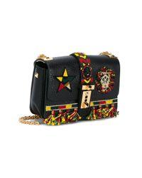 Valentino Black Valentino Garavani 'b-rockstud' Shoulder Bag