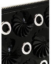3.1 Phillip Lim - Black Embellished Zip Clutch - Lyst