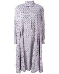 Henrik Vibskov | Blue Striped Shirt Dress | Lyst