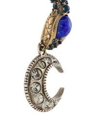 Roberto Cavalli - Blue Snake Earrings - Lyst