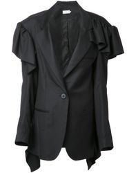 Preen By Thornton Bregazzi   Black 'cordie' Jacket   Lyst