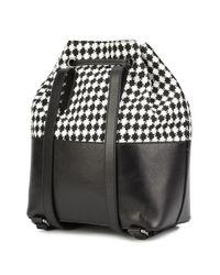Yazbukey Black Lips Backpack