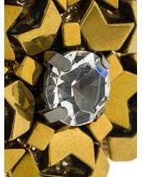 Rada' | Metallic Stone Embellished Earrings | Lyst