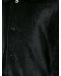 Ann Demeulemeester Black 'nebula' Coat for men