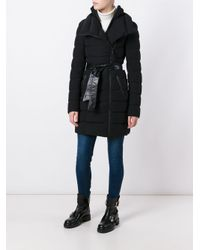 Mackage Black 'norina' Padded Coat