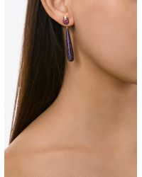 Daniela Villegas - Pink 'ma'at Love' Earrings - Lyst