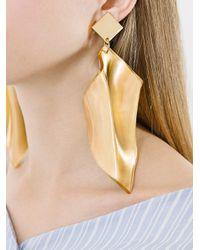 Veronique Leroy - Gray Oversized Earrings - Lyst