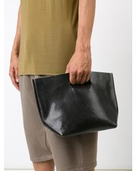 Hender Scheme - Black Wide 'not Eco' Tote - Lyst