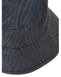 YMC Black Bucket Hat for men
