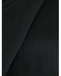 Rag & Bone Black Knit Scarf for men