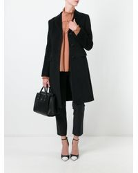Tagliatore - Black Single Breasted Coat - Lyst