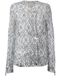 Christopher Kane | Black Daisy Lace Jacket | Lyst