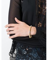 Carolina Bucci - Metallic 'florentine Finish' Beaded Bracelet - Lyst