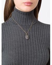 CVC Stones | Black Fabergeal Short Necklace | Lyst