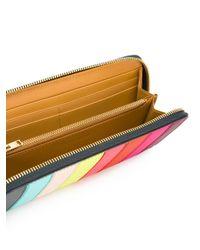 Sophie Hulme | Multicolor Rainbow Continental Wallet | Lyst