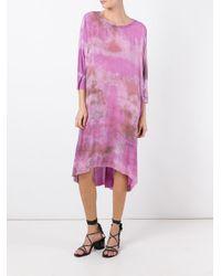 Raquel Allegra - Multicolor Tie-dye Print Dress - Lyst