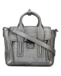 3.1 Phillip Lim - Metallic - Mini Pashli Satchel - Women - Calf Leather - One Size - Lyst