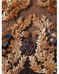 Zuhair Murad Black Embellished Flared Dress