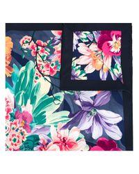 Ferragamo Multicolor New Floral Print Scarf