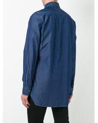 Paul Smith   Blue Denim Shirt for Men   Lyst