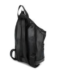 Jimmy Choo Black Fitzroy Backpack for men