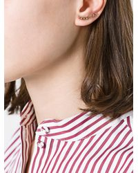 Maria Black - Metallic 'colette' Left Earring - Lyst