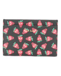 Paul Smith | Black Strawberry Print Wallet | Lyst