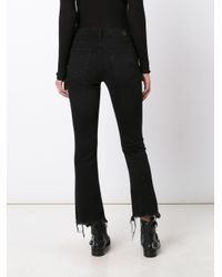 AG Jeans Black Cropped Jeans