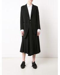 Y's Yohji Yamamoto - Black 'unbalance' Jacket - Lyst