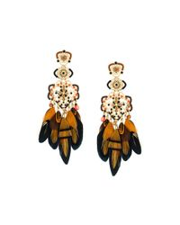 Gas Bijoux - Metallic 'tapachula' Earrings - Lyst