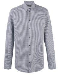 Dolce & Gabbana | Blue Check Shirt for Men | Lyst