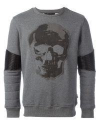 Philipp Plein | Gray United Sweatshirt for Men | Lyst