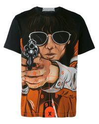 Christopher Kane Black Target Print T-shirt for men
